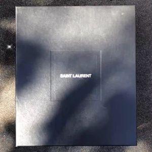 Saint Laurent Shoes - Saint Laurent Glitter Zip-Up Ankle Boots